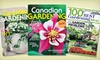 """Transcontinental - Canadian Gardening Magazine: $9.99 for a One-Year Subscription to """"Canadian Gardening"""" Magazine ($19 Value)"""