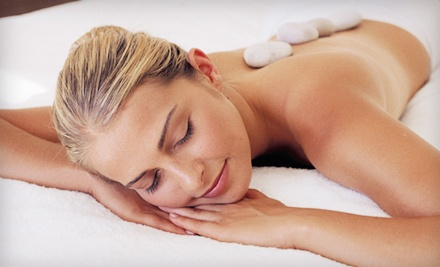 Hot-Stone Massage Package or Elemental Nature Facial Package at Jung Ja International Salon and Spa (Up to 65% Off)