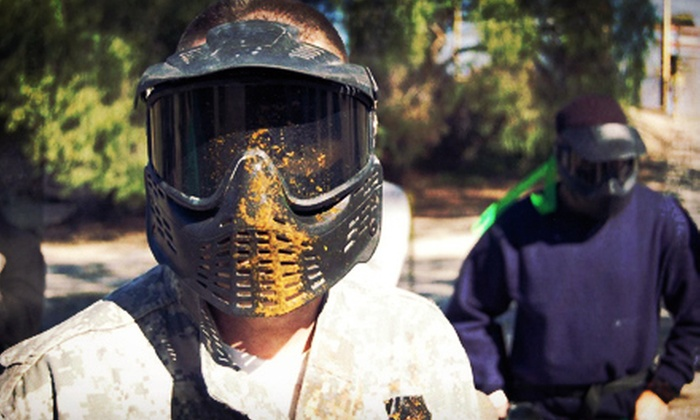Giant Paintball Alpine - Laguna-Pine Valley: Paintball Package for 1 or Up to 12 with Gear Rentals at Giant Paintball Parks (Up to 68% Off)