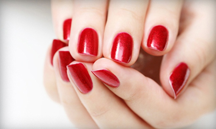 Backstage Salon and Spa - North Forest Hills: $20 for a Shellac Manicure at Backstage Salon and Spa ($40 Value)