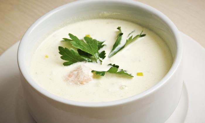 Yogart - Yogart Frozen Yogurt Studio: Gourmet Soup and Frozen Yogurt at Yogart (Up to 40% Off). Two Options Available.