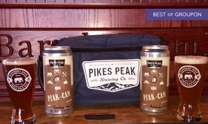 pikes peak brewing company: $22 for Two Pints, Two Cans, and Cooler for Two at Pikes Peak Brewing Co. ($44 Value)