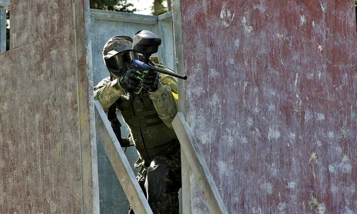 Rampage Paintball - Rampage Paintball: Paintball for Two, Four or Ten with Gear, Air Fills, and Paintballs at Rampage Paintball (Up to 60%  Off)