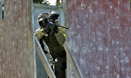 Paintball for Two, Four or Ten with Gear, Air Fills, and Paintballs at Rampage City Paintball (Up to 80%  Off)