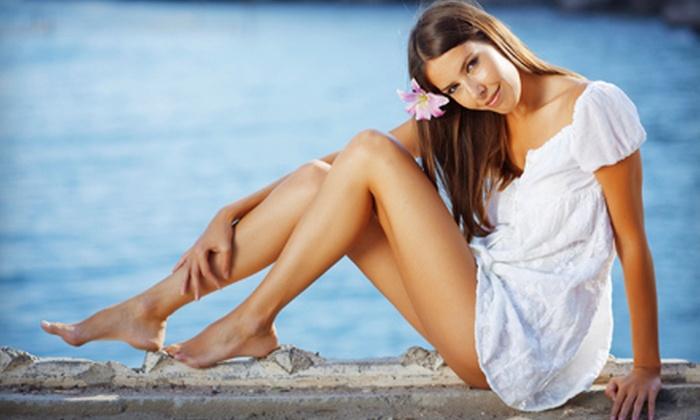Raisa at Yuki Sharoni Beauty & Lifestyle - Beverly Hills: One, Two, or Three Brazilian Bikini Waxes or an Eyebrow Design from Raisa at Yuki Sharoni Beauty & Lifestyle in Beverly Hills (Up to 58% Off)