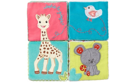 One or Two Sophie La Giraffe Early Learning Cube Sets