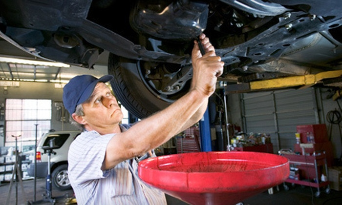 New England Tire Car Care Centers - Multiple Locations: Three Regular or Synthetic Oil Changes at New England Tire Car Care Centers (Up to 82% Off). Five Locations Available.