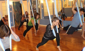 Harbor Lights Aerial Yoga: Up to 57% Off Kid's and Adult's AntiGravity Classes at Harbor Lights Aerial Yoga