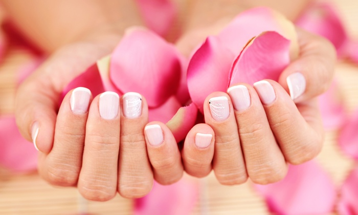 Lilly's Nail Spa - Mine Hill: Lavender Spa Mani-Pedi with Reflexology or a Pedicure with Reflexology  at Lilly's Nail Spa (Up to 58% Off)
