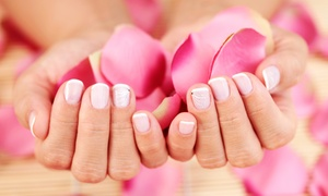 Lilly's Nail Spa: Lavender Spa Mani-Pedi with Reflexology or a Pedicure with Reflexology  at Lilly's Nail Spa (Up to 58% Off)