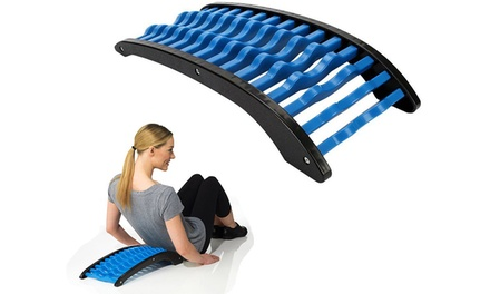 Achterbankstretcher om je rug te strekken