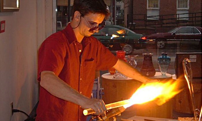 Michael Peluso - Multiple Locations: Introductory Glass-Blowing Class for Two or Four from Michael Peluso (Up to 51% Off)