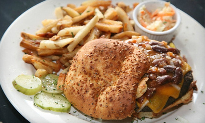 B.A.D. Burger - Alphabet City,Loisaida,Lower East Side: Gourmet-Burger Meals for Two or Four at B.A.D. Burger (Up to 57% Off)