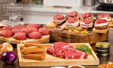 Grass-Fed Organic Tailgate Assortments With Free Shipping from American Farmers Network (Up To 65% Off)