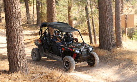 $199 for Two-Hour Side-By-Side ATV Rental for Up to Four from Enjoy The Mountain ($399 Value)