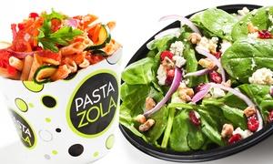 Pasta Zola: Pasta, Flatbreads, and Salads at Pasta Zola (30% Off).