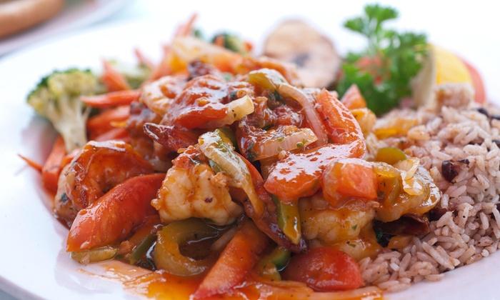 Ambrosia Island Jamaican Restaurant - Pearland: Up to 47% Off Jamaican Food at Ambrosia Island Jamaican Restaurant