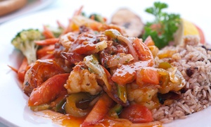 Ambrosia Island Jamaican Restaurant: Up to 47% Off Jamaican Food at Ambrosia Island Jamaican Restaurant