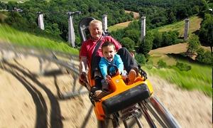 Normandie Luge: 10 descentes de luge sur rail en duo à 32 € à Normandie Luge