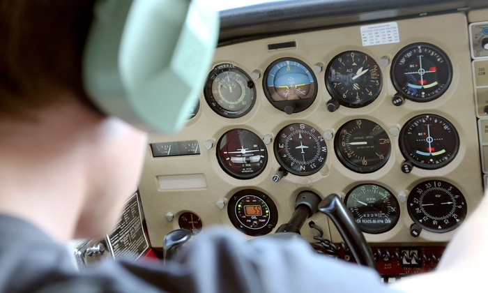 Fare Share Ltd. - Pottstown: 30- or 60-Minute Hands-On Flight Lesson for One with Fare Share Ltd. at Limerick Flight Center (Up to 51% Off)