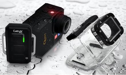 Gear Pro Quest 16MP 1080p HD WiFi Action Camera Bundle