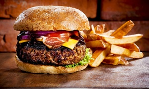 Velvet Music Rooms: Burger or Posh Dog, Side and Drink For One, Two or Four from £5 at Velvet Music Rooms
