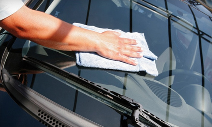 Van Isle Auto Glass - Victoria: Windshield or Full-Car Water-Repellent Treatment or Windshield Chip Repairs at Van Isle Auto Glass (Up to 57% Off)