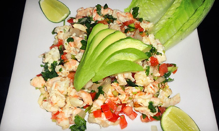 Caribbean Breeze - Laredo Highline: $15 for $30 Worth of Latin-Fusion Cuisine at Caribbean Breeze