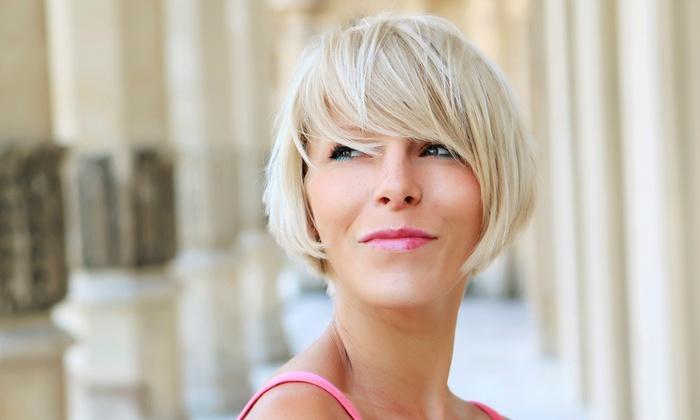 Haircut And Highlights Beyond The Fringe Salon Lindsey Jensen