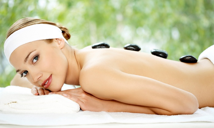 You Potentiality -  Inside Alpha Health Center: Sixty-Minute Hot Stone Massage with Optional Ionic Foot Bath at You Potentiality (Up to 57% Off)
