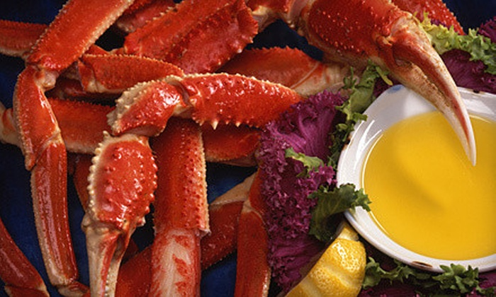 S & J Crab Ranch - Towson: $20 for $40 Worth of Barbecue and Seafood at S & J Crab Ranch