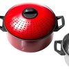 Carbon Steel or Stainless Steel Pasta Pot Set (4pc.)