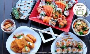 Kurama Oriental Food: Kurama Oriental Food Bistrô – Setor Pedro Ludovico: combinado japonês com 70 peças