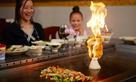 Japanese Cuisine at Red Samurai Japanese Steakhouse (44% Off). Two Options Available.