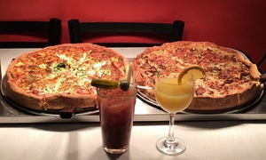 South of Chicago Pizza: Dine-In or Carryout at South of Chicago Pizza (Up to 64% Off). Three Options Available.