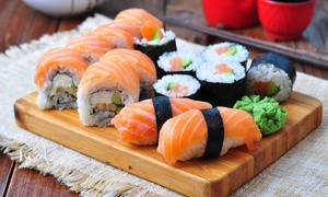Kyoto Restaurant: Sushi and Japanese Food at Kyoto Japanese Restaurant (Up to 50% Off). Two Options Available.