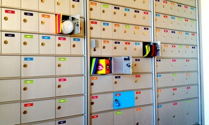 Boxfli: 3-, 6-, or 12-Month Mailbox Rental at Boxfli (Up to 50% Off). Eight Options Available.