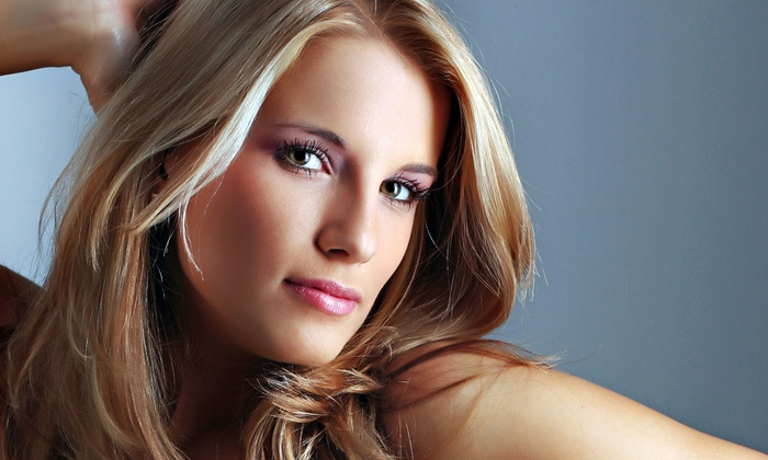 Bombshell Studio 102 - Select Salon Studios: Haircut with Style with Option for Color at Bombshell Studio 102 (Up to 50% Off)