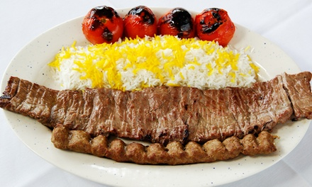 Persian Cuisine at Noon O Kabab (Up to 47% Off)