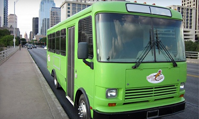 Capitol City Crawler - Downtown: Party Bus and Tubing for One or Two from Capitol City Crawler (Up to 57% Off). Three Options Available.