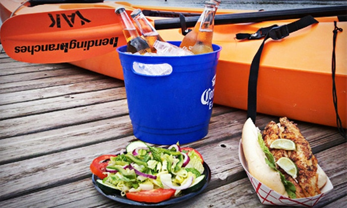 City Seafood - Everglades City: Single-Kayak Rental and Seafood for Breakfast or Lunch for Two or Four from City Seafood (Up to 63% Off)