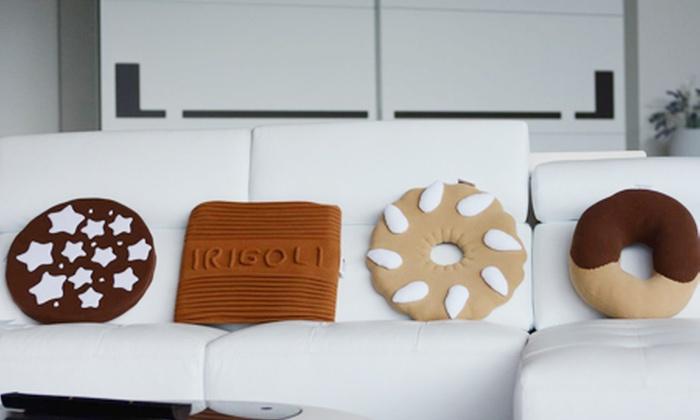 Cuscini Biscotto Mulino Bianco.Cuscino Biscotto Groupon Goods