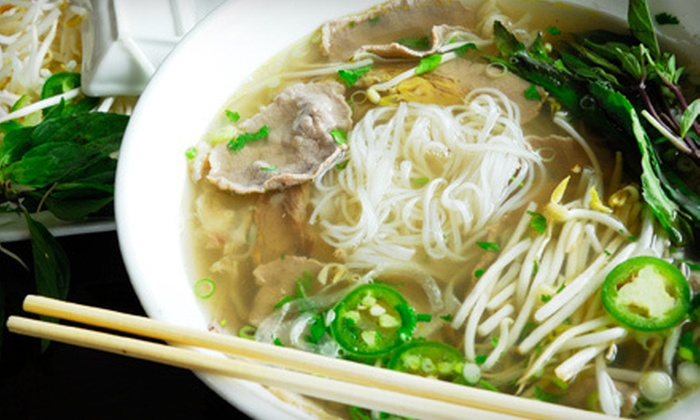 Pho Que Huong - Frisco: Authentic Vietnamese Fare at Pho Que Huong in Frisco (Half Off). Two Options Available.