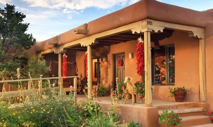 Bobcat Inn - Santa Fe: Two-Night Stay for Two with Chocolates, Chilies, and Flowers at Bobcat Inn in Santa Fe, NM