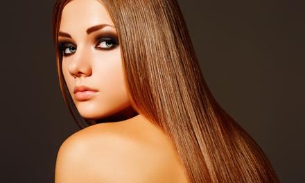 Escova Louca Cabeleireiros — Gaia: sessão de cabeleireiro com hidratação e corte e/ou coloração desde 16,90€