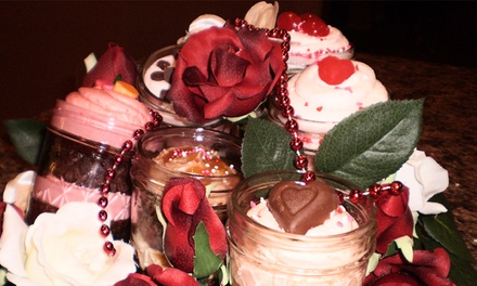 6 or 12 Jars of Alcohol-Infused or Virgin Cupcakes at After Hours Cupcake Bar (Up to 51% Off)