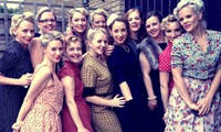 Vintage Hair or Make-Up Party with Afternoon Tea for Two or Four at Aidas Parlour (68% Off)