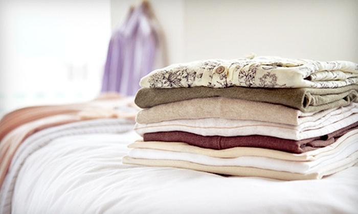 Comet Cleaners - Multiple Locations: Dry-Cleaning at Comet Cleaners (Up to 60% Off). Eight Options Available.