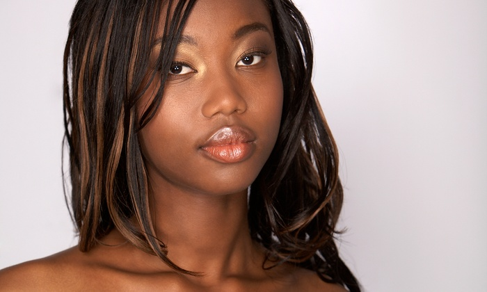 Kenya's Creations Hair Salon - Spring Lake: Haircut with Optional Highlights or Sew-In Extensions at Kenya's Creations Hair Salon (Up to 55% Off)