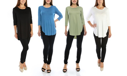 Nelly Women's Plus Size Tunic Top
